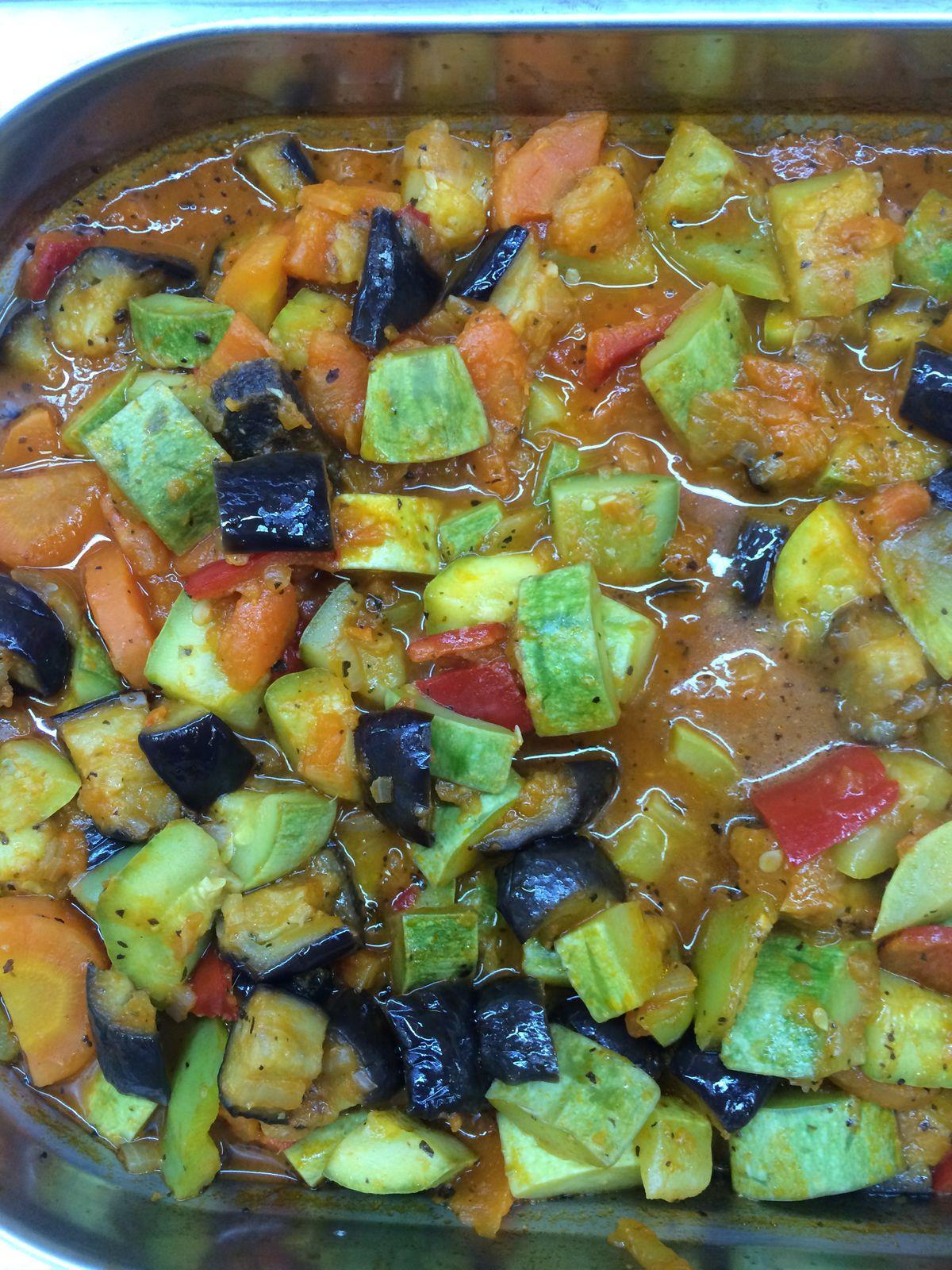 legume la cuptor cu busuioc